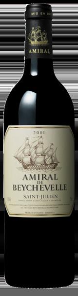 Amiral de Beychevelle 2001 - second vin de Chateau Beychevelle - Saint-Julien
