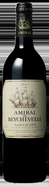 Amiral de Beychevelle 2002 - second vin de Chateau Beychevelle - Saint-Julien