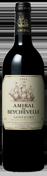 Amiral de Beychevelle 2004 - second vin de Chateau Beychevelle - Saint-Julien