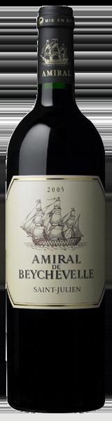 Amiral de Beychevelle 2005 - second vin de Chateau Beychevelle - Saint-Julien