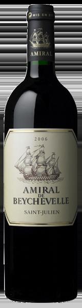 Amiral de Beychevelle 2006 - second vin de Chateau Beychevelle - Saint-Julien