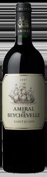 Amiral de Beychevelle 2007 - second vin de Chateau Beychevelle - Saint-Julien