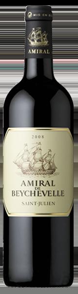 Amiral de Beychevelle 2008 - second vin de Chateau Beychevelle - Saint-Julien