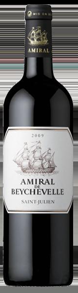 Amiral de Beychevelle 2009 - second vin de Chateau Beychevelle - Saint-Julien