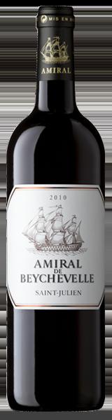 Amiral de Beychevelle 2010 - second vin de Chateau Beychevelle - Saint-Julien