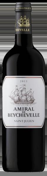 Amiral de Beychevelle 2011 - second vin de Chateau Beychevelle - Saint-Julien