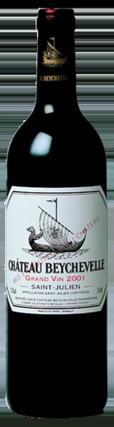 Chateau Beychevelle 2001 - saint-julien - grand cru classé