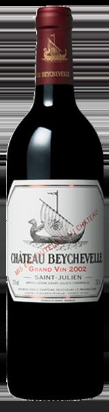 Chateau Beychevelle 2002 - saint-julien - grand cru classé
