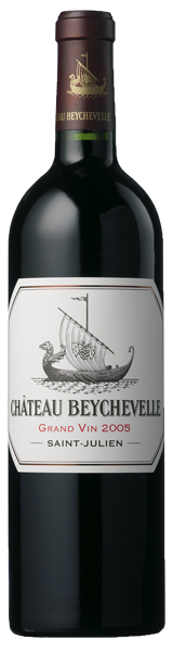 Chateau Beychevelle 2005 - saint-julien - grand cru classé
