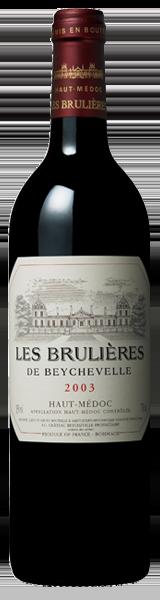 Les Brulières de Beychevelle 2003 - Haut-Médoc
